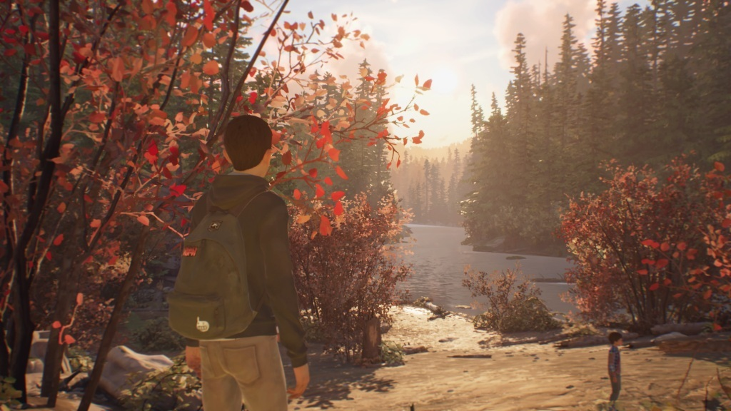 Life is Strange 2; gameplay: rieka