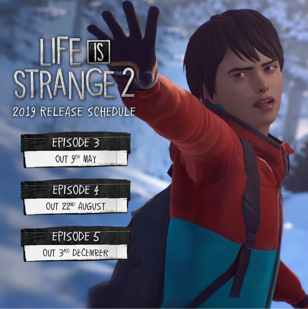 Life is Strange 2; screenshot: datum vydania