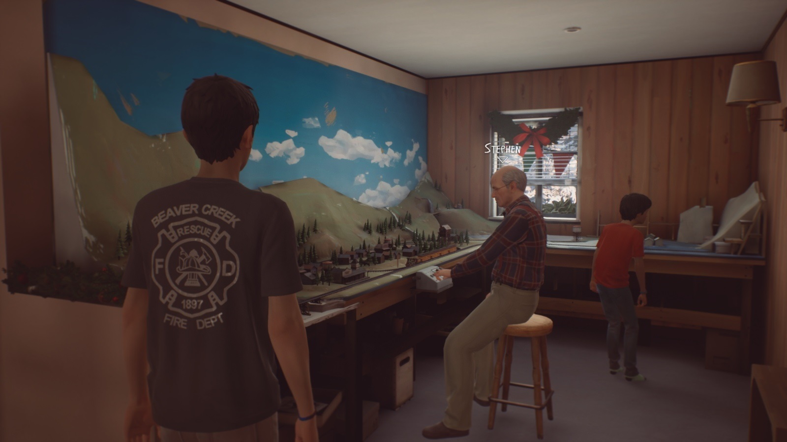 Life is Strange 2: Rules; gameplay: Stephen