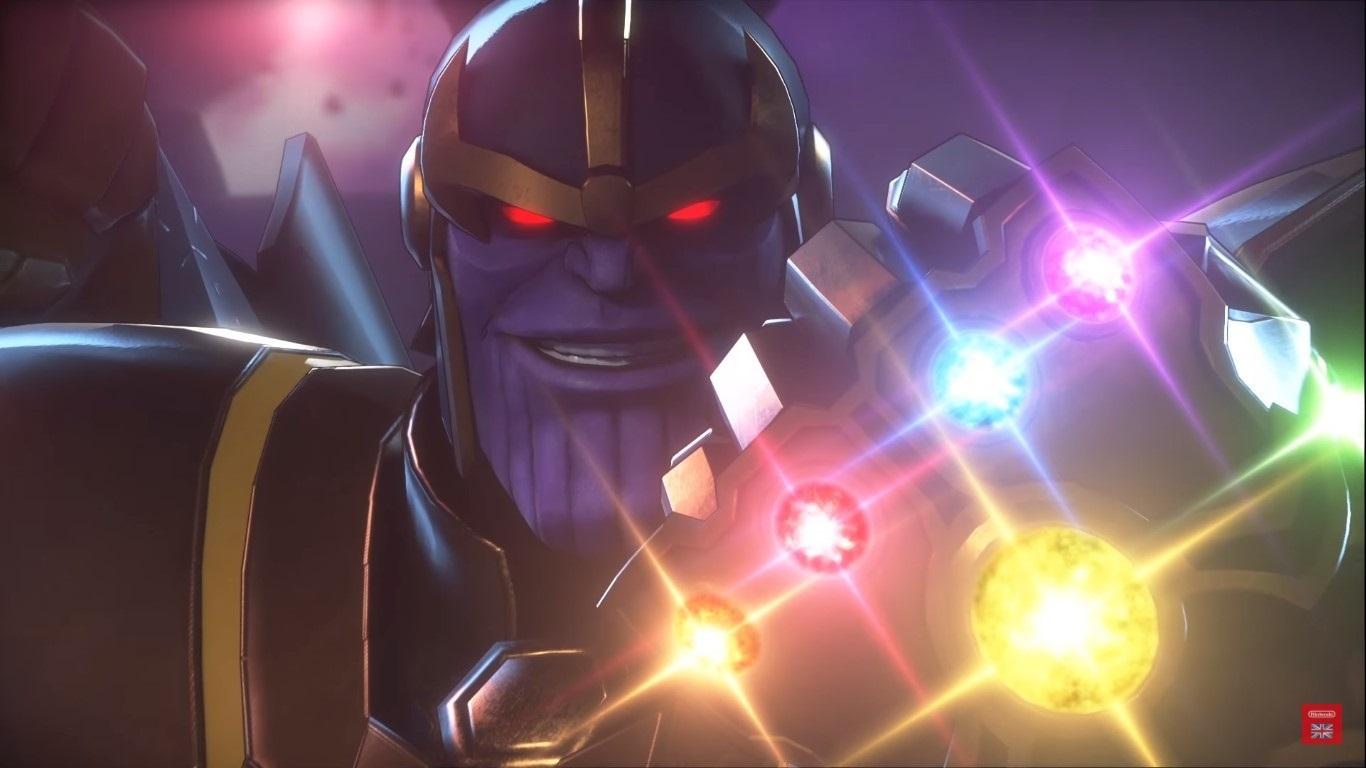 Marvel ultimate Alliance 3: The Black Order; screenshot: Thanos