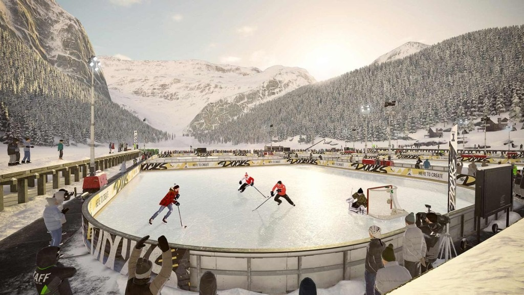 9f69026472477 NHL 19; screenshot: outdoor ...