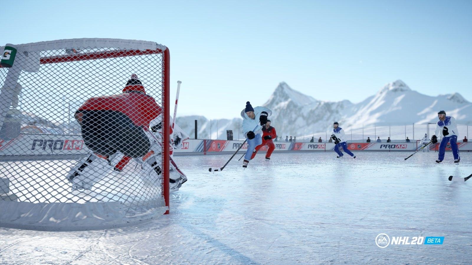 NHL 20; gameplay: lot