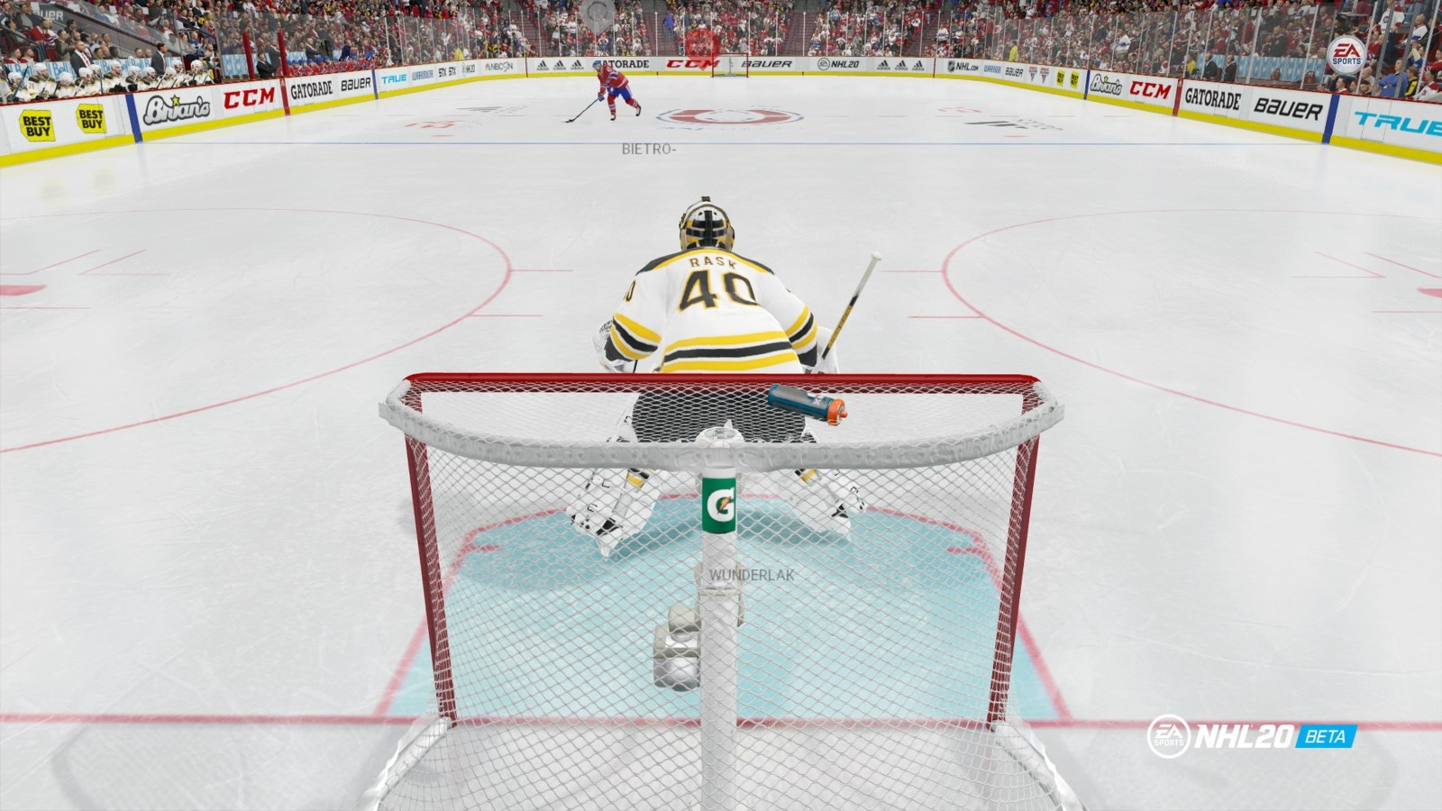 NHL 20; gameplay: nájazd