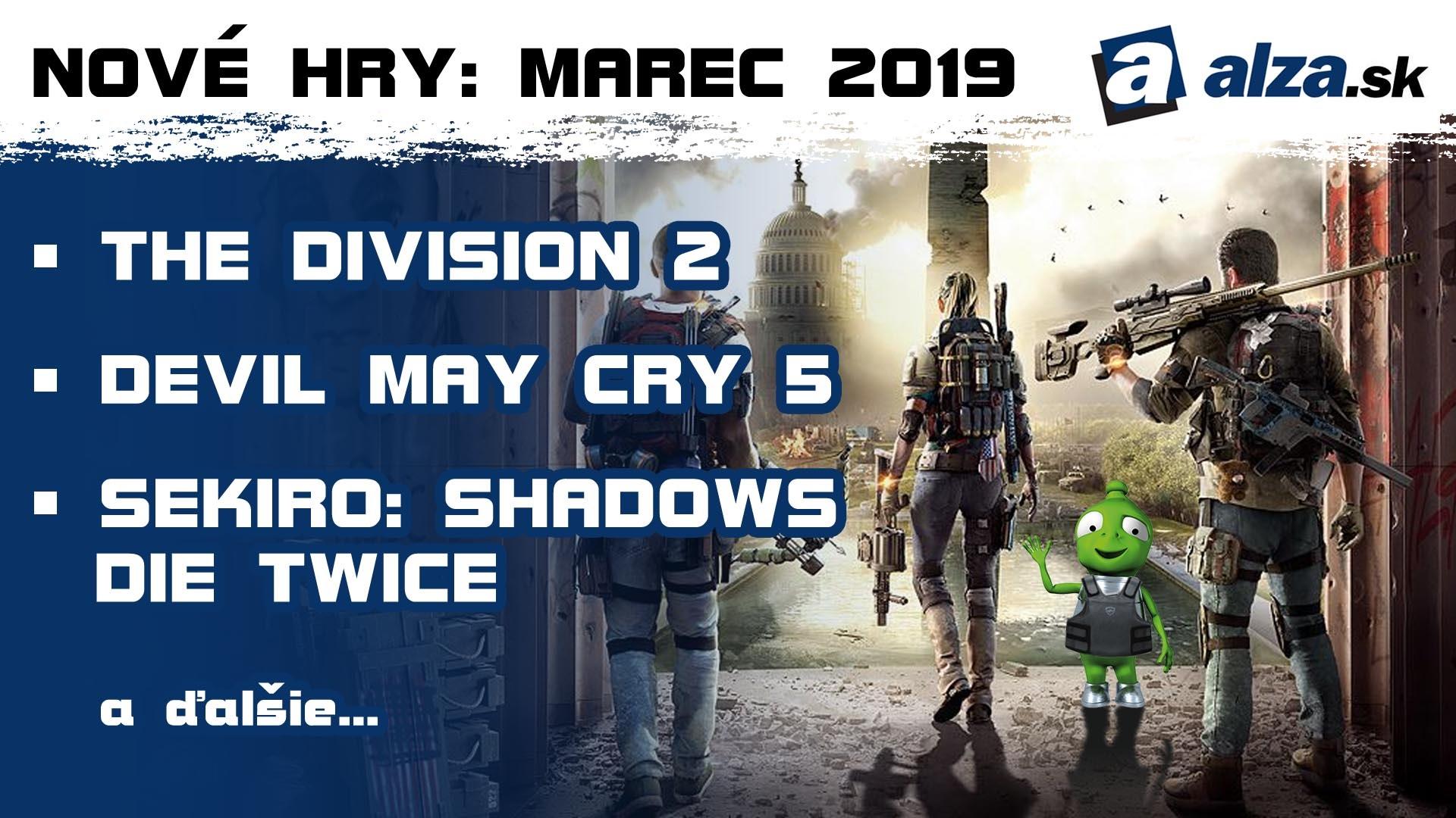 Nové hry: marec 2019 - Tom Clancy's The Division 2
