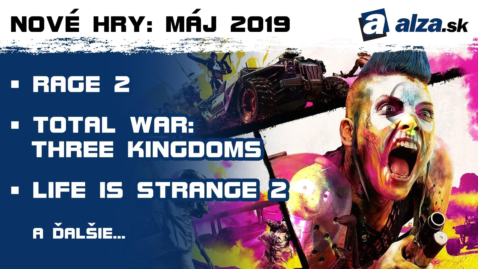 Nové hry: máj 2019 – Rage 2