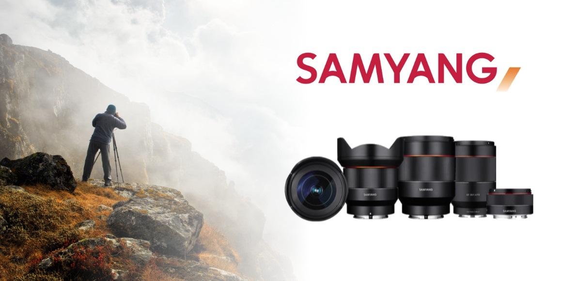 Nové objektívy Samyang