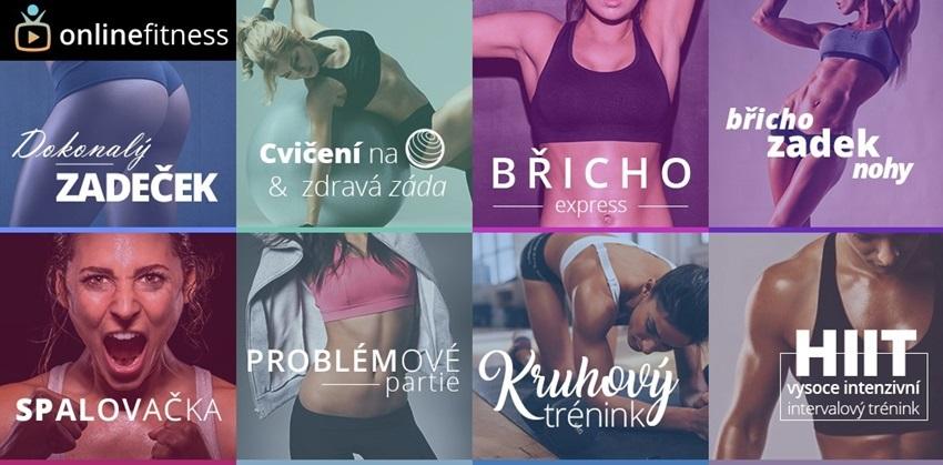 Online Fitness lekcie