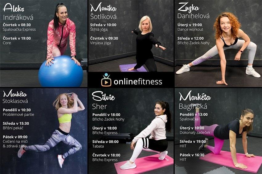 Online Fitness tréneri