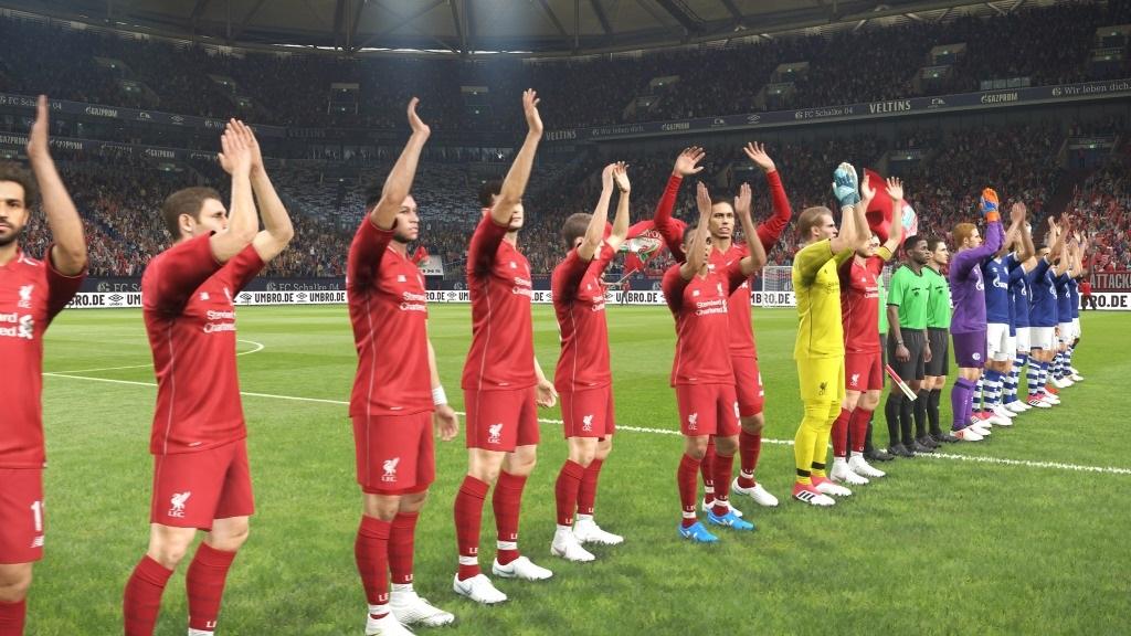 PES 2019; gameplay: atmosféra