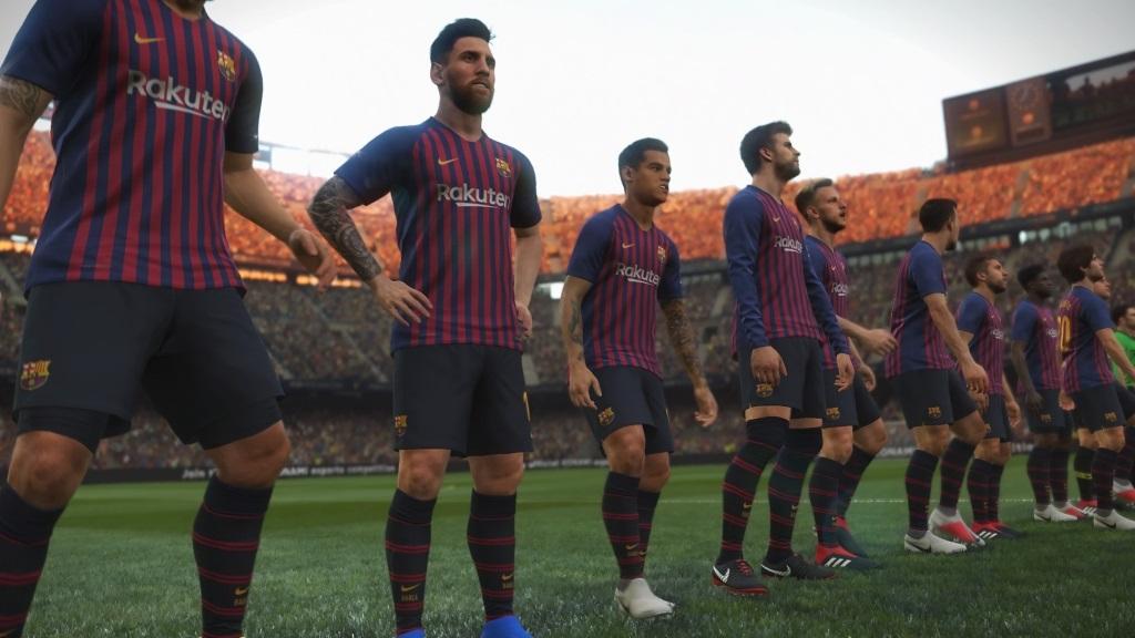 PES 2019; gameplay: Barcelona