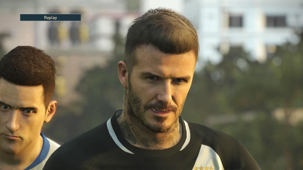 PES 2019; gameplay: Beckham
