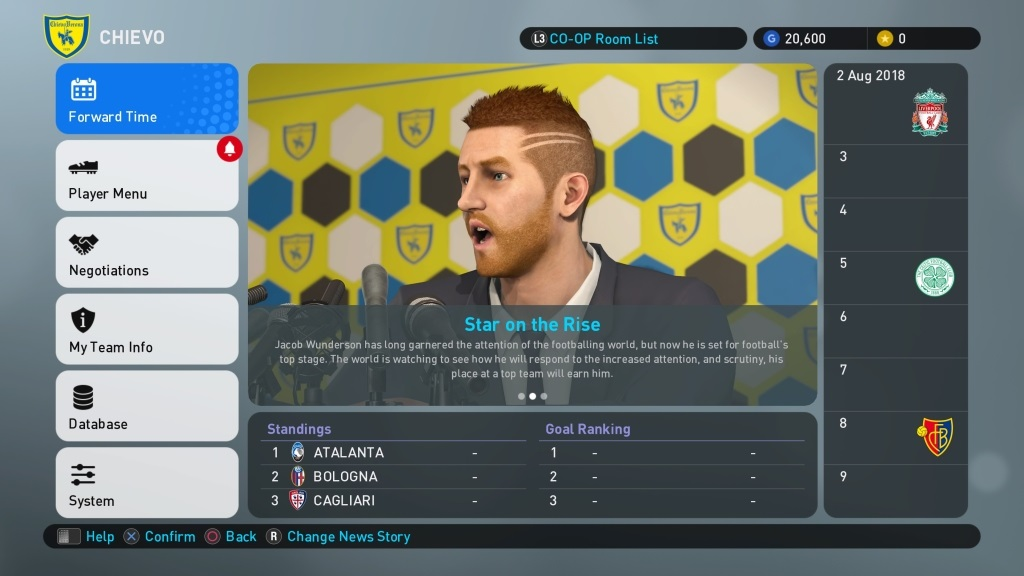 PES 2019; gameplay: Become a Legend