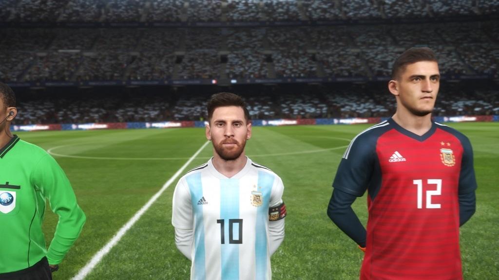 PES 2019; gameplay: Messi