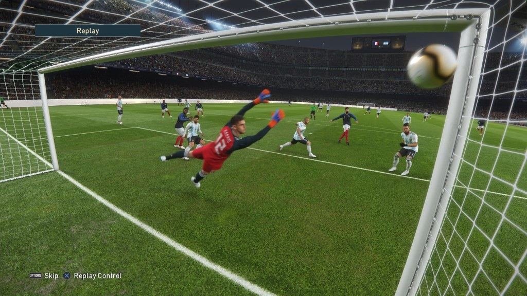 PES 2019; gameplay: šibenica