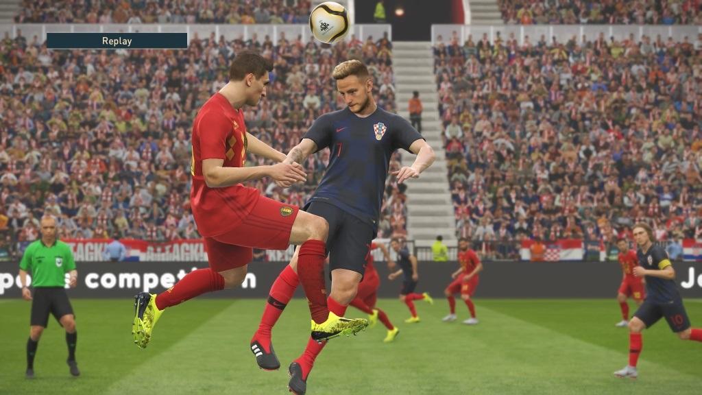 PES 2019; gameplay: súboj