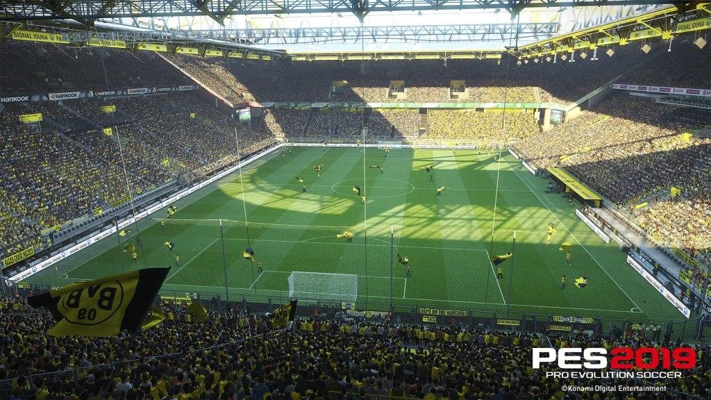PES 2019; Wallpaper: štadión v Dortmunde