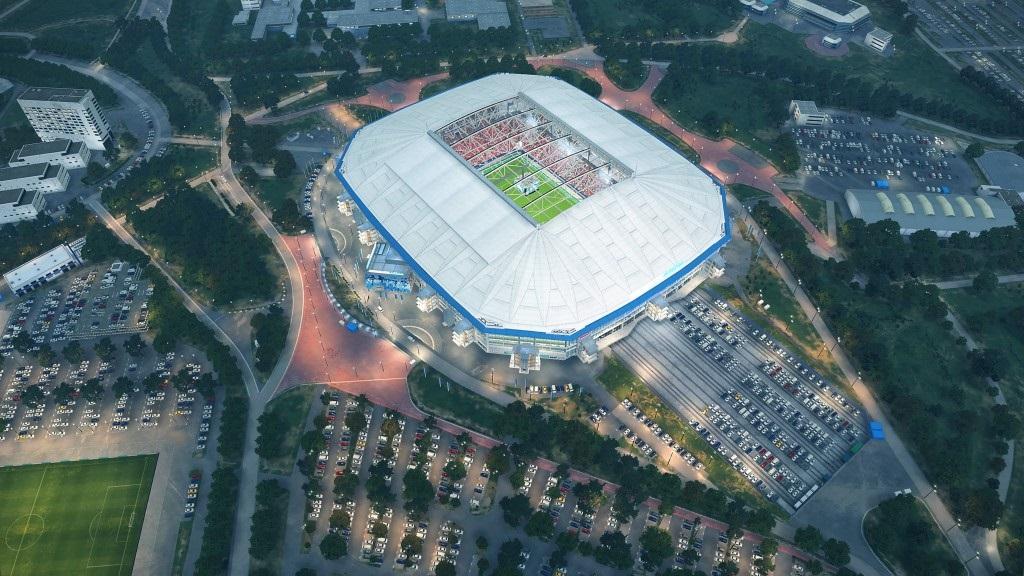 PES 2019; gameplay: štadión