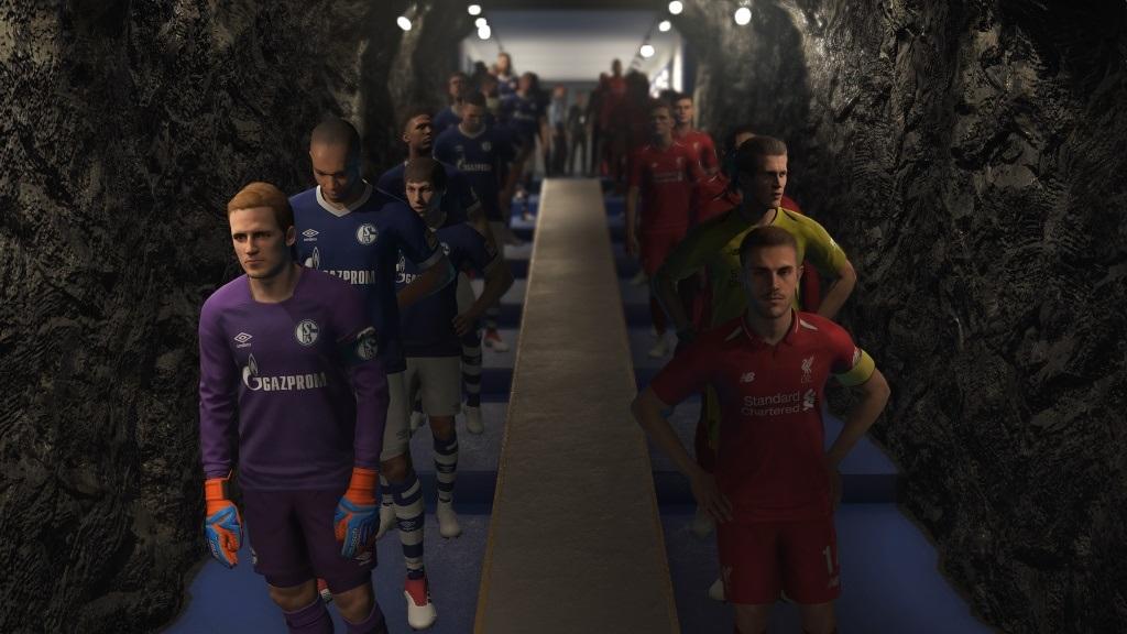 PES 2019; gameplay: zázemie