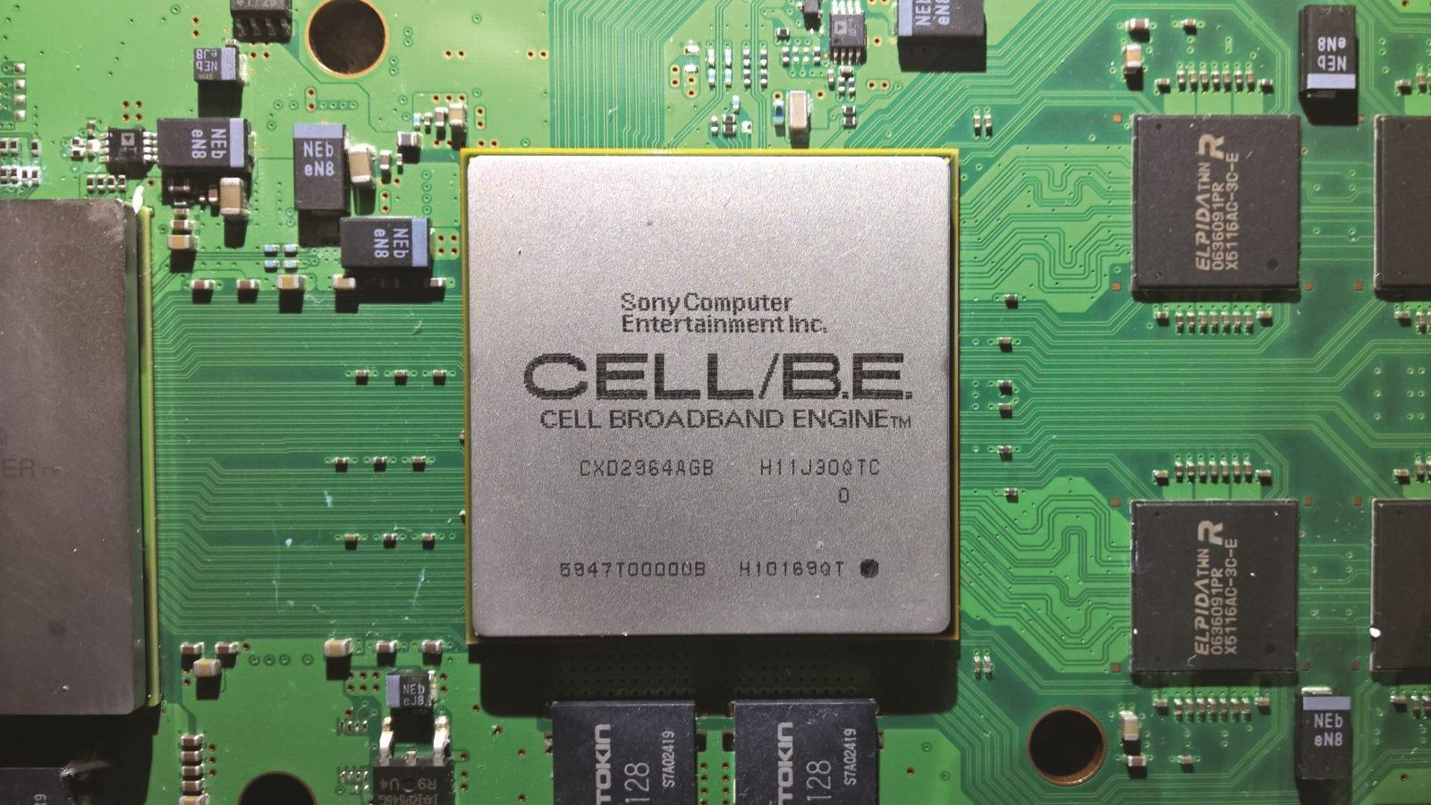 PlayStation 5; screenshot: Cell procesor