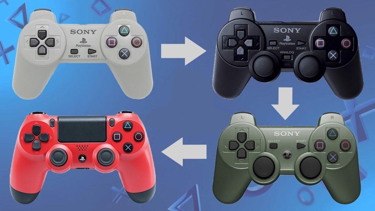 PlayStation 5; screenshot: dualshock evoluce