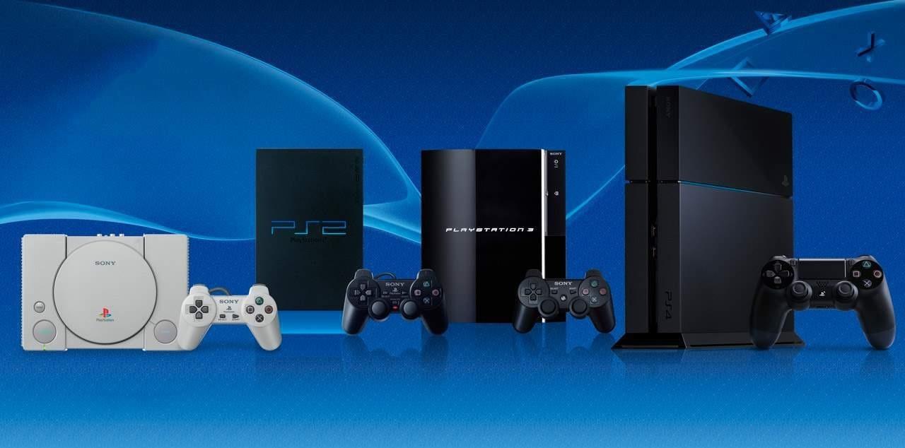 PlayStation 5; screenshot: všechny generace PlayStation