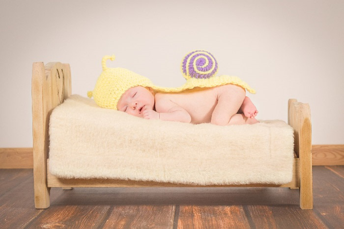 Profesionálne fotky bábätka