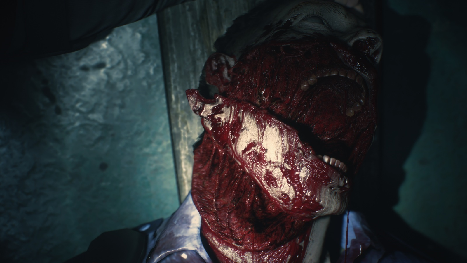 Resident Evil 2; gameplay: úsmev
