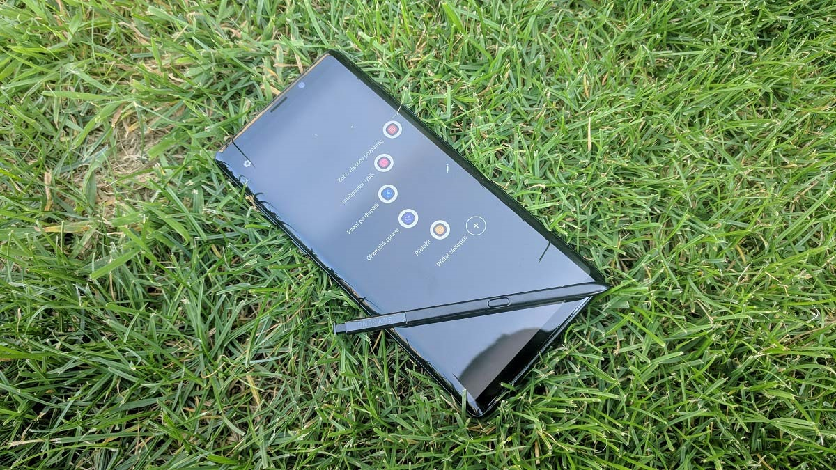 Samsung Galaxy Note9; recenzia; pero s pen; telefón