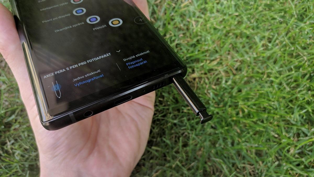 Samsung Galaxy Note9; recenzia; pero S Pen