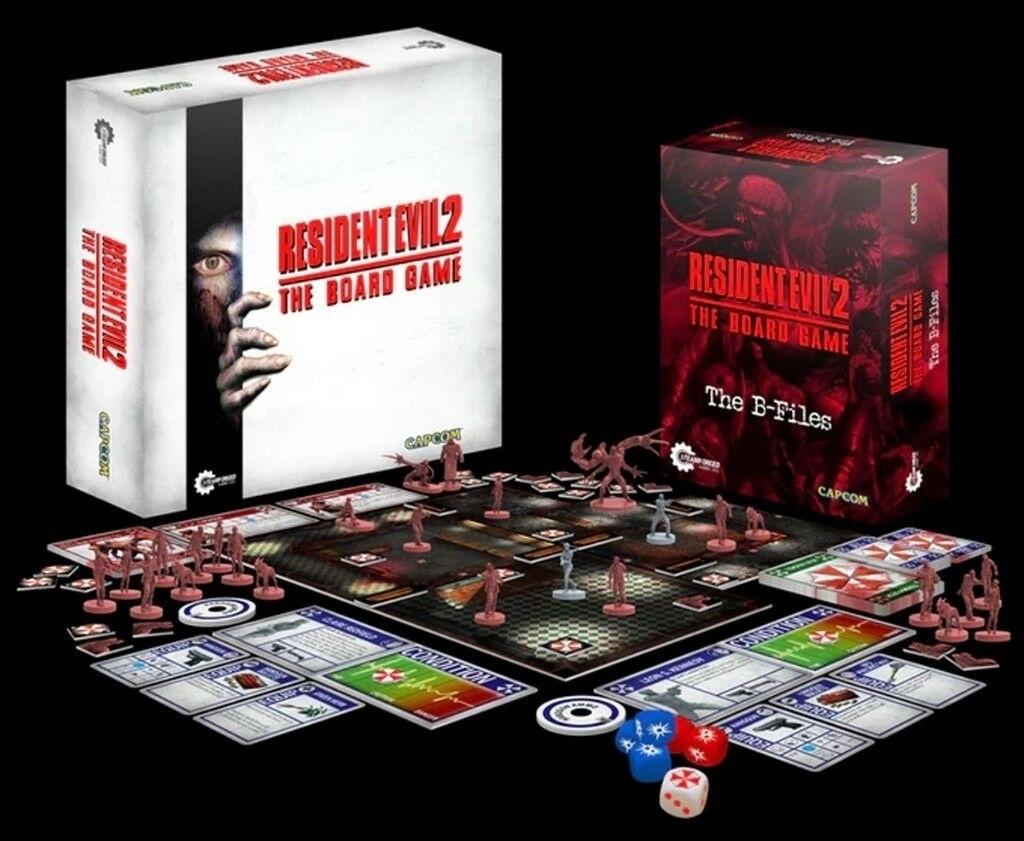 Doskové hry podľa počítačových predlôh; screenshot: Resident Evil 2