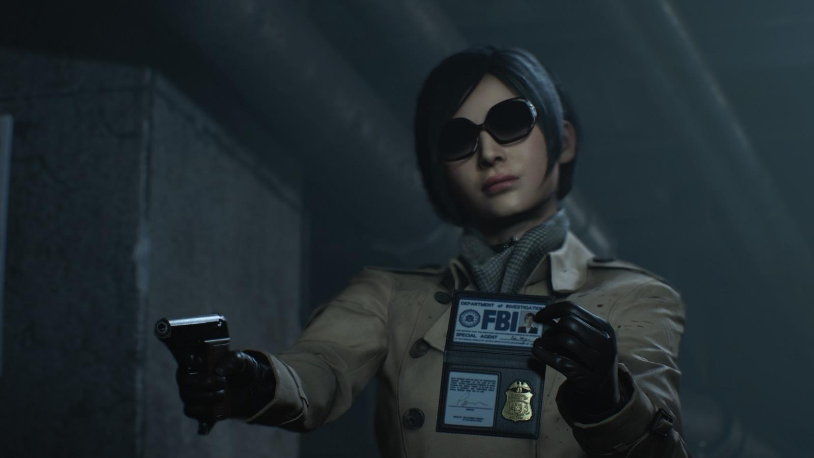 Resident Evil 2; gameplay: Ada