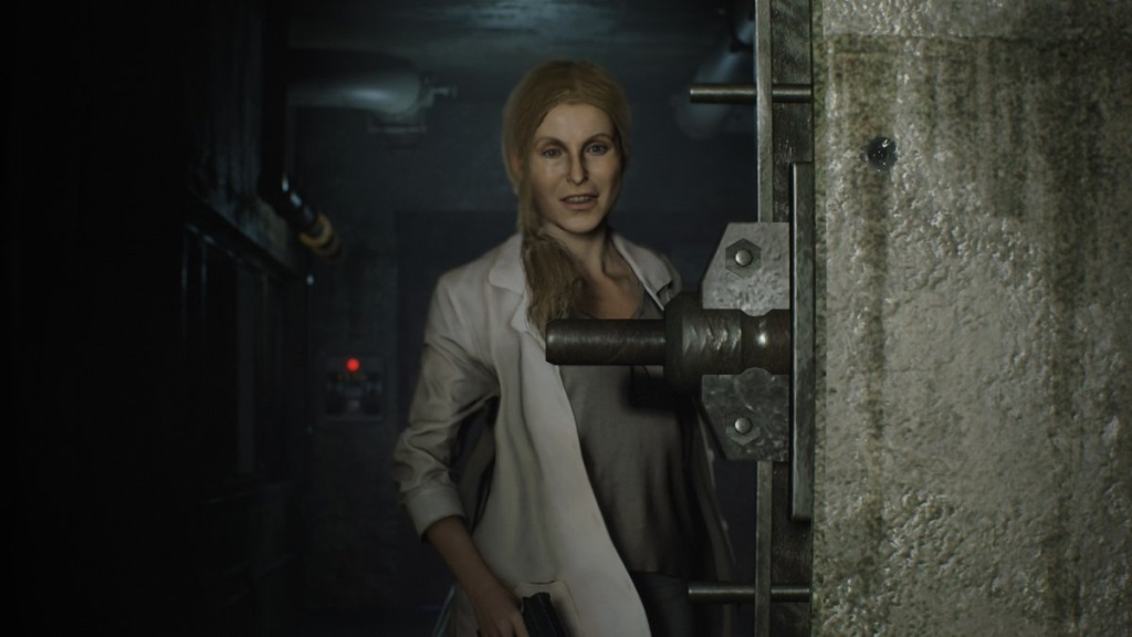 Resident Evil 2; screenshot: Annette