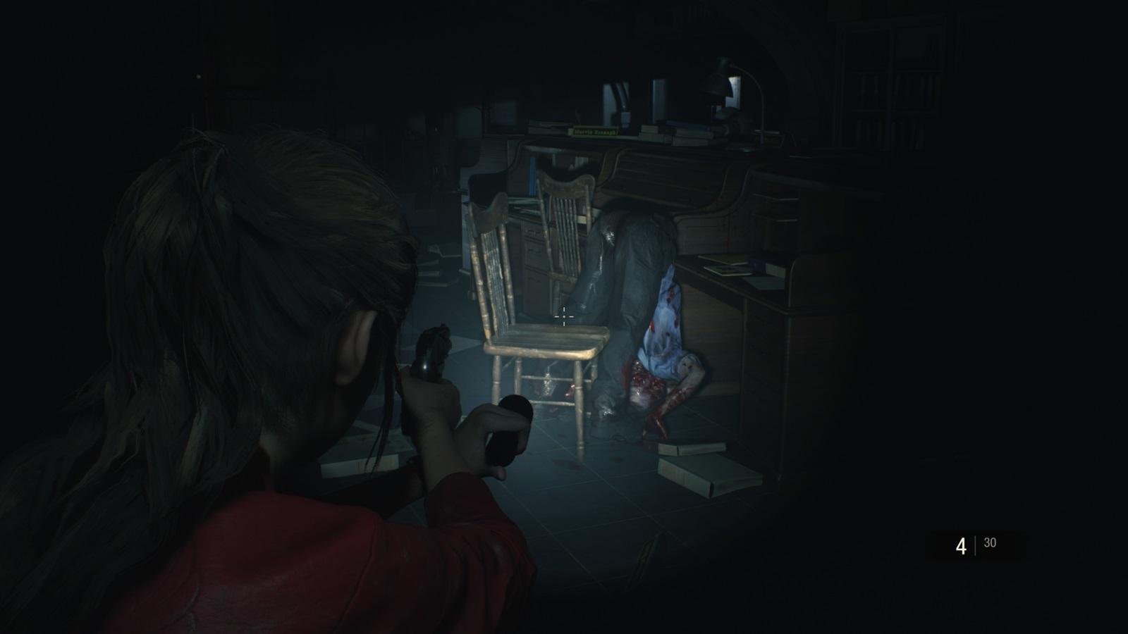 Resident Evil 2; gameplay: chyba