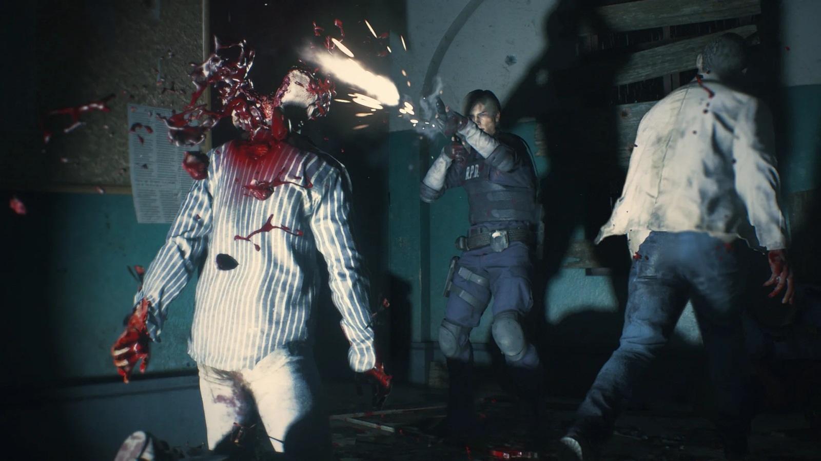 Resident Evil 2; screenshot: brokovnica