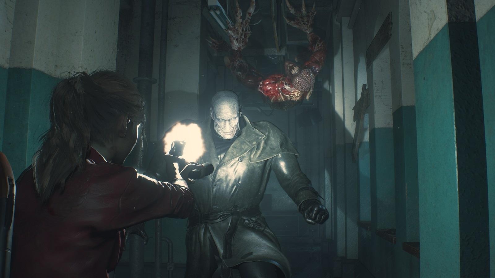 Resident Evil 2; screenshot: kombinácia