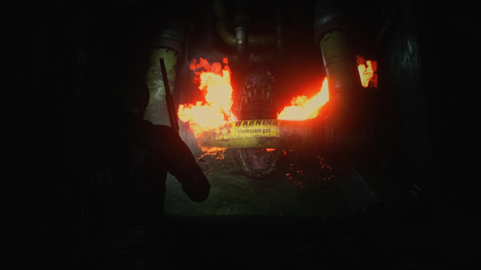 Resident Evil 2; gameplay: monstrum