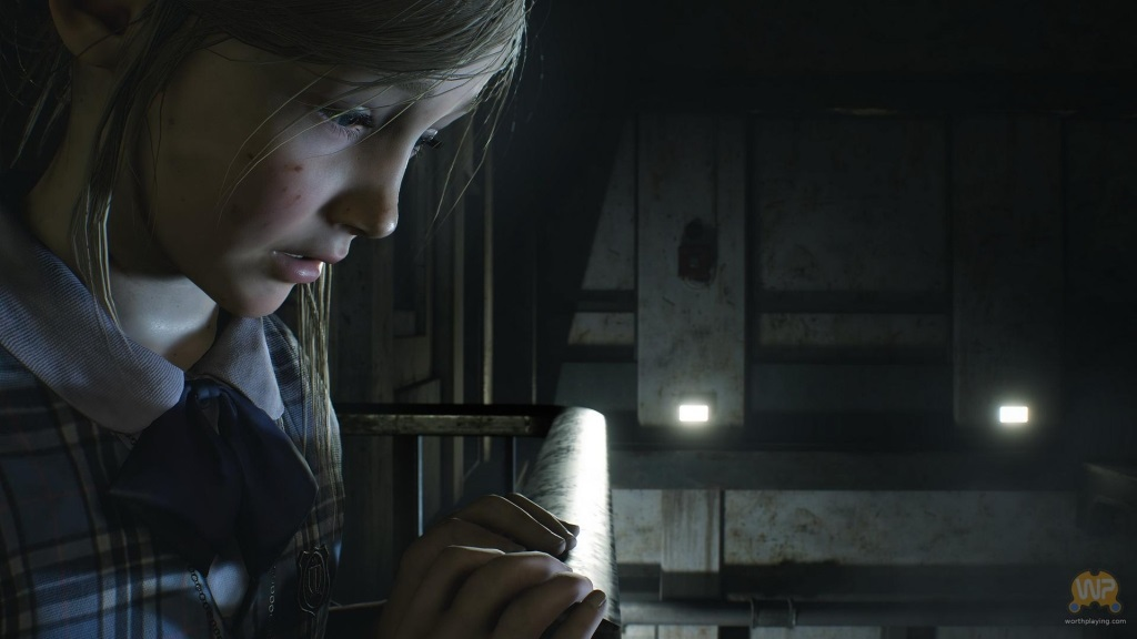 Resident Evil 2; screenshot: Sherry
