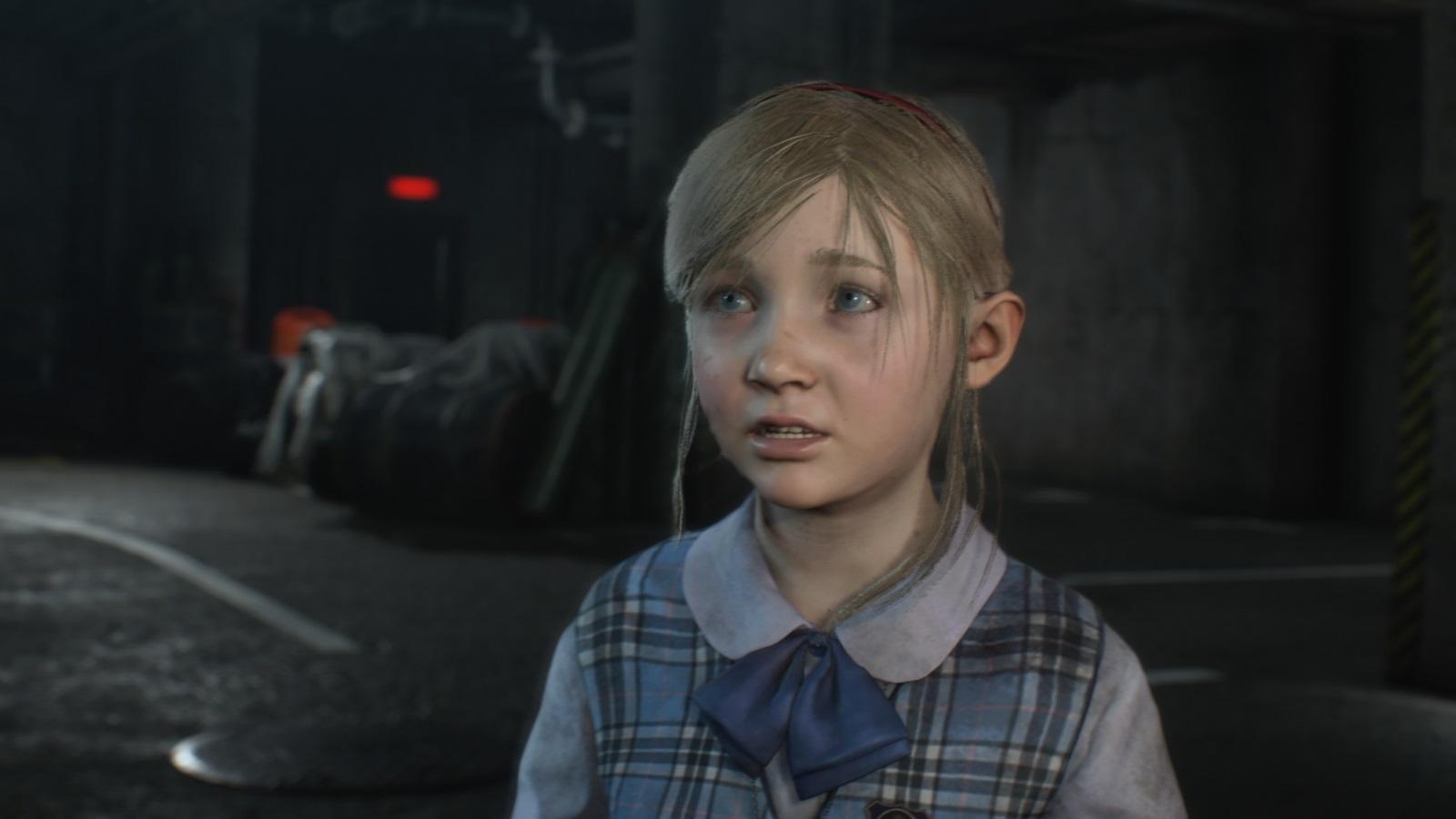 Resident Evil 2; gameplay: Sherry