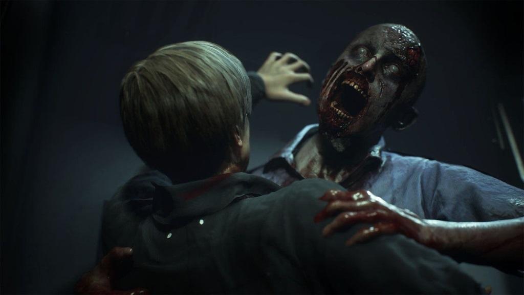 Resident Evil 2; screenshot: smrť