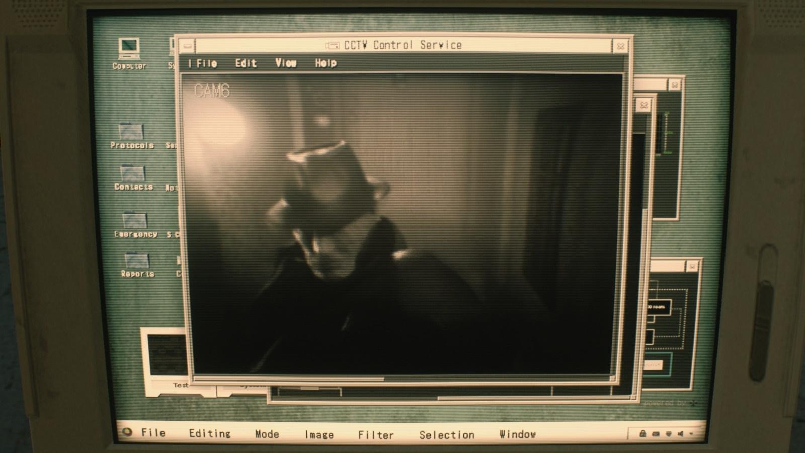 Resident Evil 2; gameplay: Tyrant