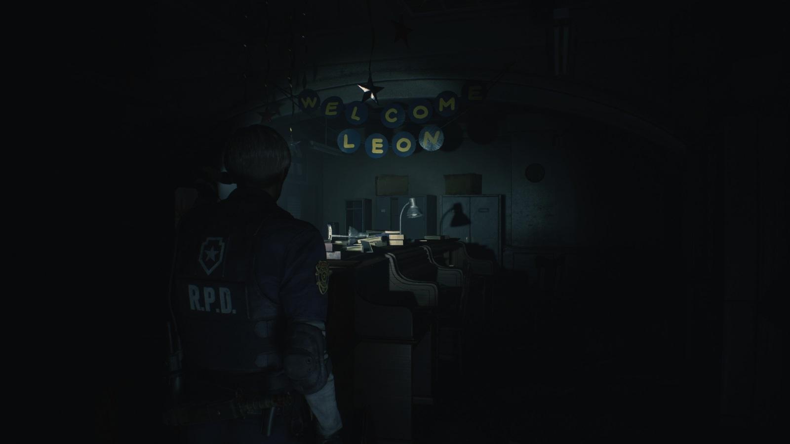Resident Evil 2; gameplay: uvítačka