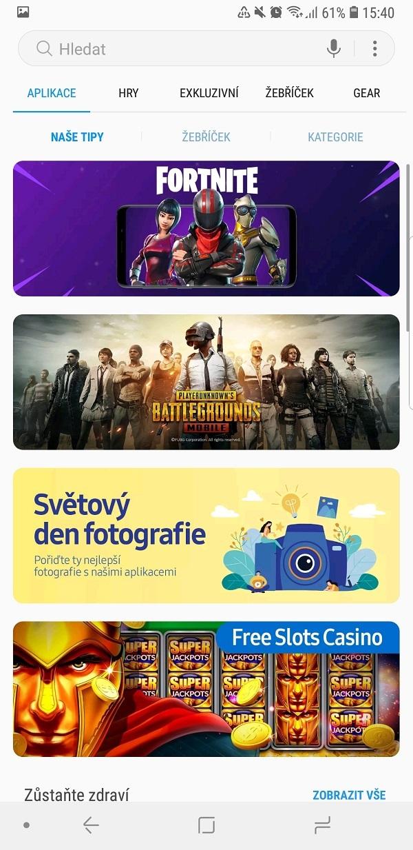 Samsung Galaxy Note9; recenzia; aplikácia