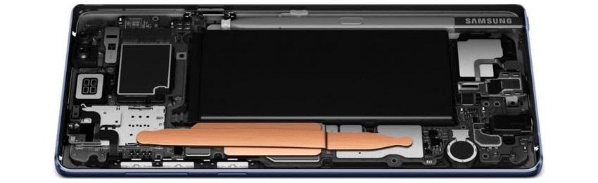 Samsung Galaxy Note9, batéria