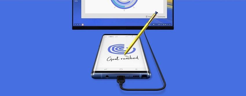 Samsung Galaxy Note9; recenzia; režim DEX