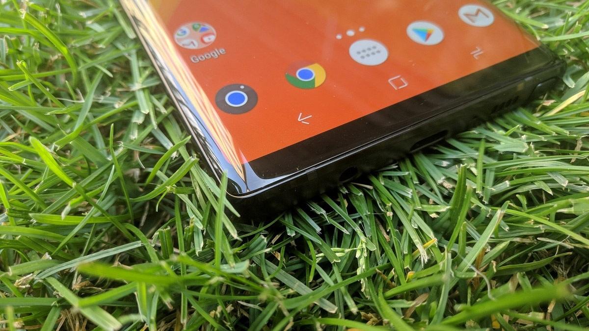 Samsung Galaxy Note9; recenzia; displej