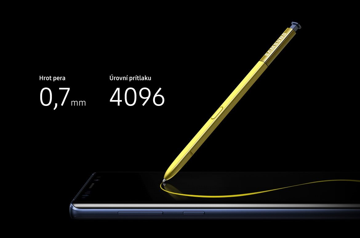 S Pen a Samsung Galaxy Note9 Duos