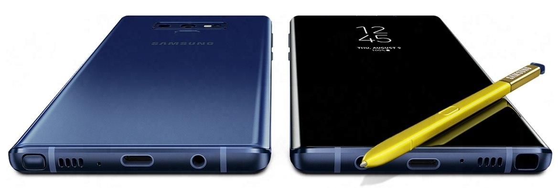 Luxusný dizajn telefónu Samsung Galaxy Note9