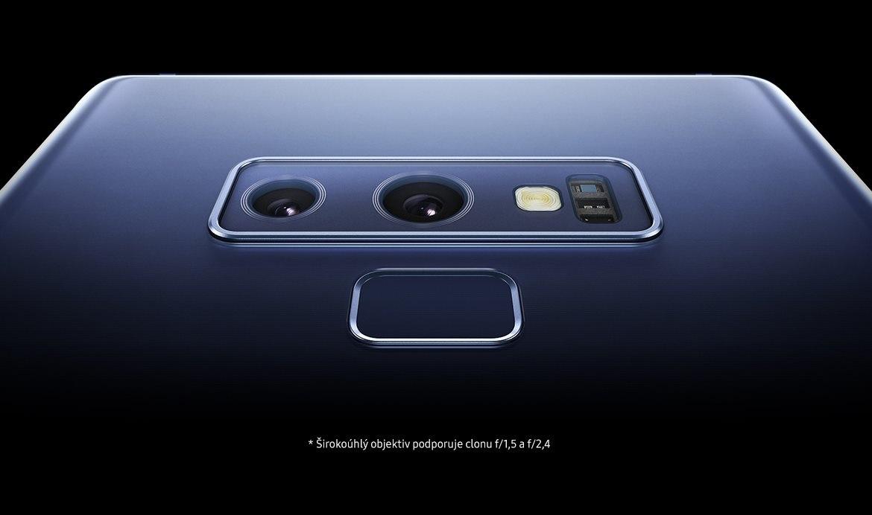 Širokouhlý objektív Samsung Galaxy Note9