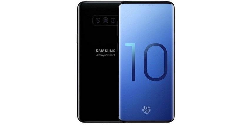 Samsung Galaxy S10 bez rámikov