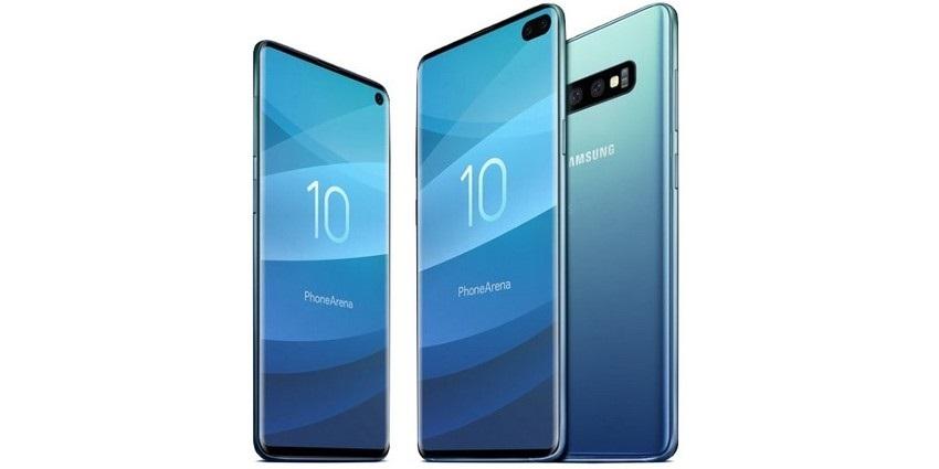 Samsung Galaxy S10, modrý